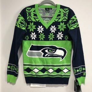 NWT NFL Team Apparel Seattle Seahawks sweater